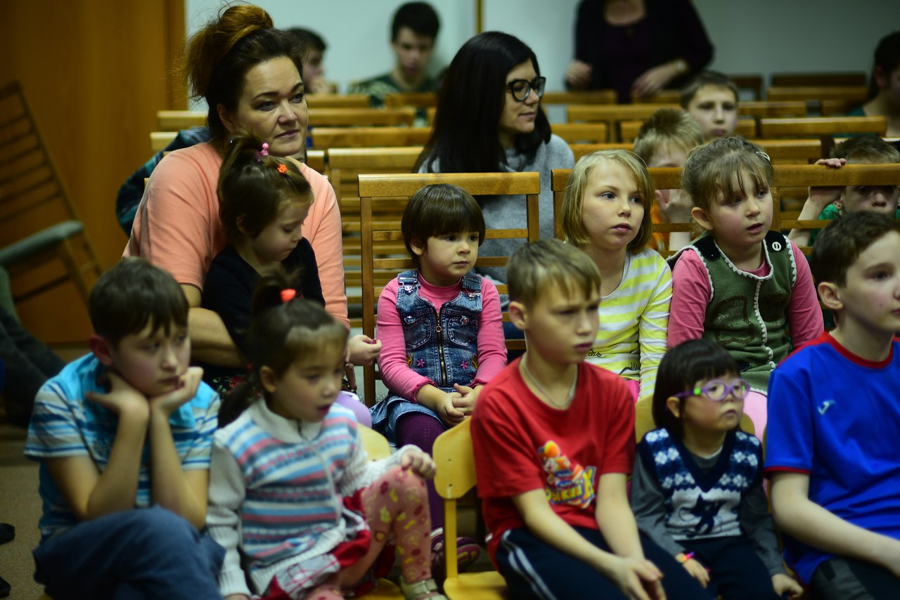 Посмотреть фото с детьми из детского дома
